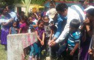 inauguración: Introducción del sistema de agua potable