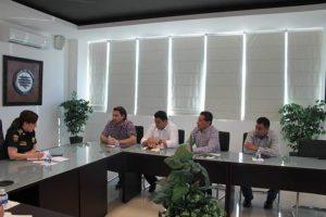 PRESIDENTES MUNICIPALES DE LA REGIÓN SELVA SE REUNIERON CON LA SECRETARIA DE SEGURIDAD